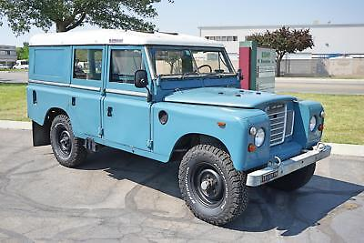 1973 109 -- 1973 Land Rover 109  28,281 Miles Blue  Diesel Manual
