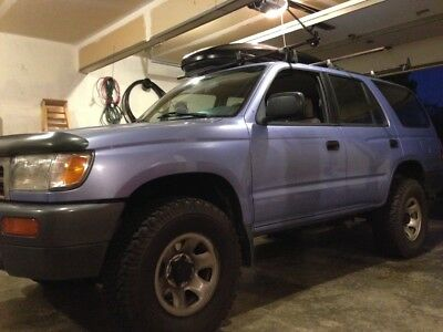 1997 Toyota 4Runner  1997 Toyota 4Runner 4x4 Manual