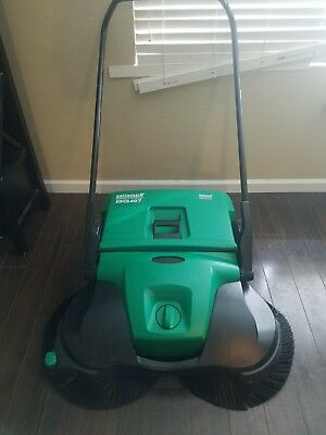 "Bissell 38"" Deluxe Triple Brush Push Power Sweeper Turbo, 13.2 Gal. BG497"