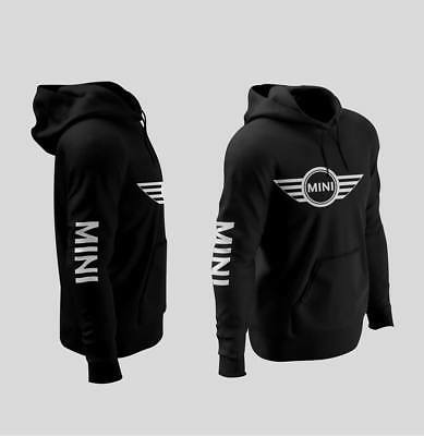 Mini Cooper logo Hoodies Black S-3XL size