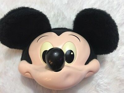 RARE Disney Mickey Mouse Youth Hat Kids Snapback Cap With Mickey Mouse 3D Ears