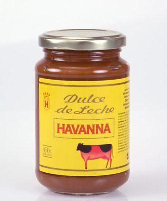 Dulce de leche Havanna 450g glass jar - Produced in Spain