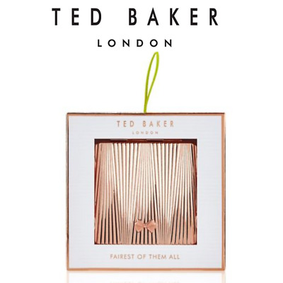 TED BAKER Compact 2018 Mirror Double Duel Sides Handbag make up Boxed Gift Set