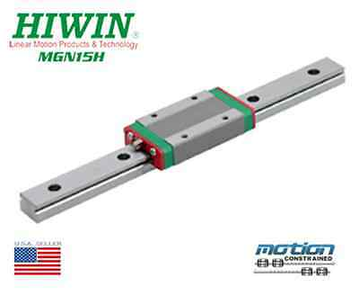 Neuf Hiwin MGN15H Linéaire Guides Mgn Séries Roulements / 60mm To 1980mm Long