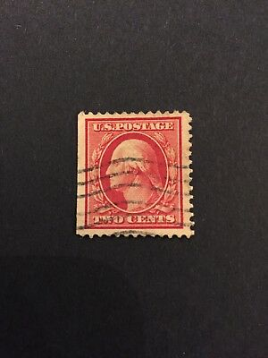 George Washington Red 2 Cent Stamp This Is The REAL Deal Rare