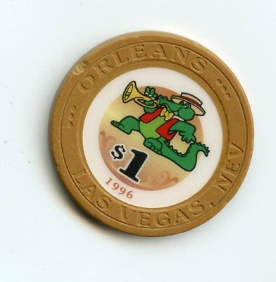 1.00 Chip from the Orleans Casino Las Vegas Nevada 1996