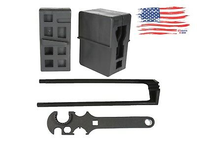 Armorer Set Lower/ Upper Vise Block/ Combo Wrench/ Removal Tool