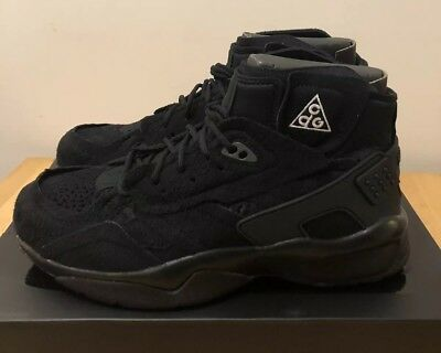 sports shoes 8712d 2e14d Nike ACG x CDG Comme des Garcons Air Mowabb Black Sail UK 8 US 9 DS