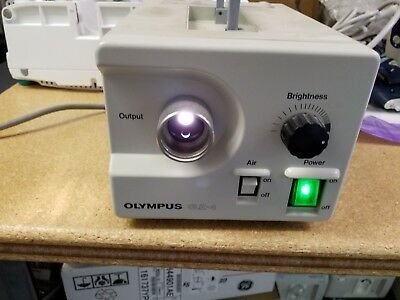 Olympus CLK-4 Halogen Light Source as pictured working in good condition