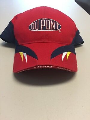 4fe7f5860f1 NASCAR Legend JEFF GORDON 🏁 DUPONT Motorsports Fitted Hat Cap CHASE NEW W   TAG