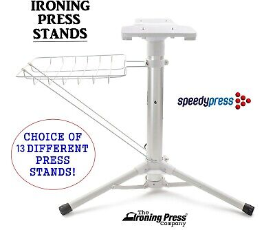 Press Stand for Steam Ironing Presses by Speedypress (8 Stands to choose from!)