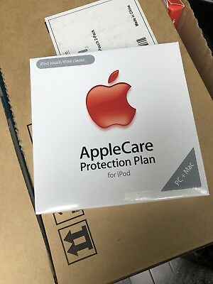 New Factory Sealed Apple Care Protection Plan For Ipod Touch and Classic MB591LL