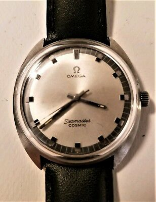 Vintage Omega Seamaster Cosmic Men S Automatic Wrist Watch 332 77