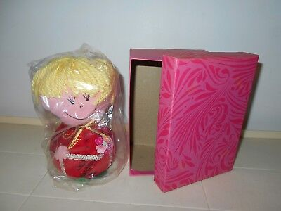 """Western Union Vintage 60's Dolly Gram """"just To Say"""" Doll Mint In Original Box"""