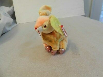 Ty Beanie Babies Zodiac Series The Rabbit With Tag-Retired