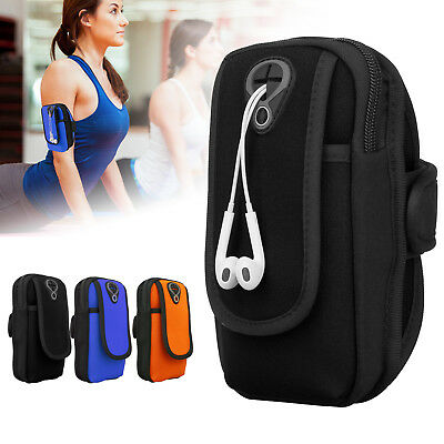 Sweatproof Running Armband Sports Gym Exercise Jogging Case for Phones Under 6""