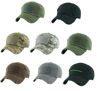 930f91aed52 Kbethos Tactical Operator Hat Special Forces USA Flag Army Military Patch  Cap