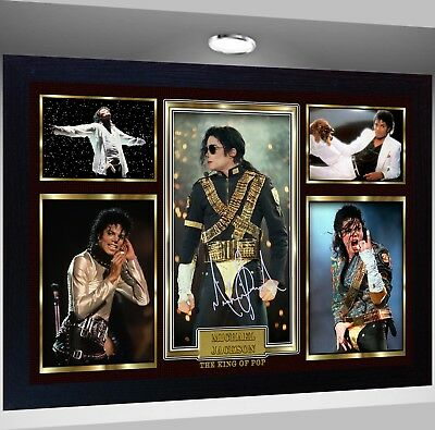 MICHAEL JACKSON Framed Photo RE PRINT POSTER Perfect gift