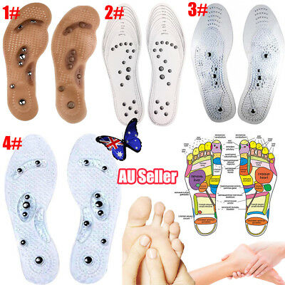 MindInSole Acupressure Magnetic Massage Foot Therapy Reflexology Pain Relief UO