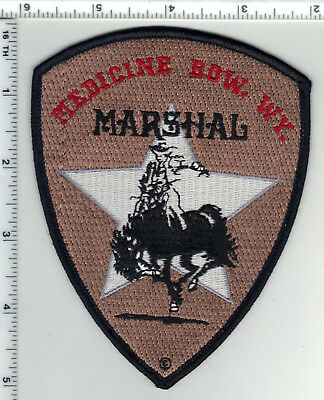 Medicine Bow Marshal (Wyoming) Shoulder Patch from the 1980's