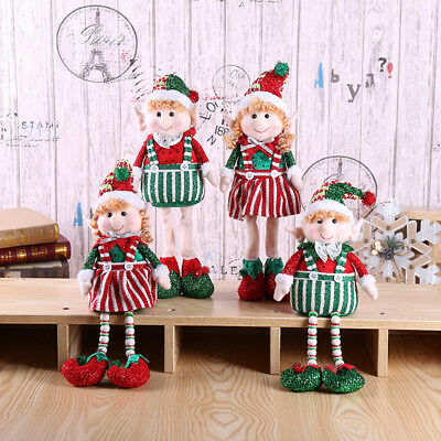 Cute Long-Legged Elf Christmas Doll Gift Doll Christmas Tree Decoration Xmas AU