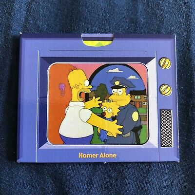 The Simpsons Homer's TV Treat Game 2006 Tazo Card