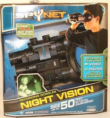 eba331756c6d3 JAKKS Pacific Spy Net Night Vision Goggles Recording Stealth Binoculars 1GB  NEW