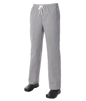Traditional Check Drawstring Trouser by Club Chef