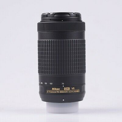 Nikon AF-P 70-300mm f/4.5-6.3G ED VR NK199X Original Box  ES Spain Ship*1