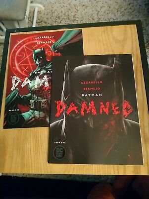 Batman DAMNED #1 COVER A + B (Hot Jim Lee Variant) Lot 1st Print DC BLACK LABEL