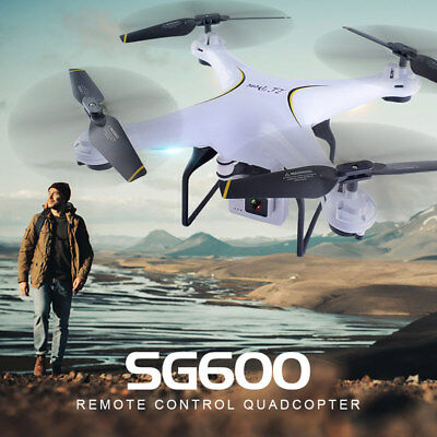 SG600 Hobby Grade RTF Drone with 2.0 MP HD Camera and 2 Extra Batteries.