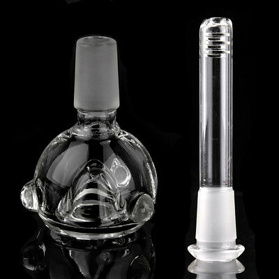 15mm Cone & 11mm Rectangle Glass Accessory Kit For Bong Vase Smokings Water Pipe