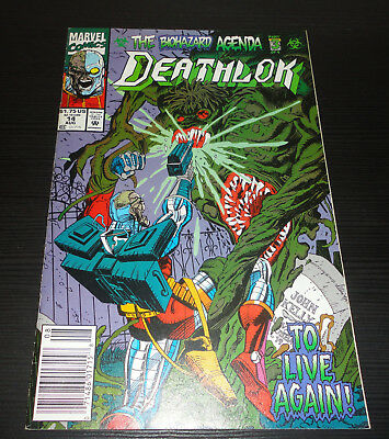 Deathlok (1991 1st Series) Issue #14 Very Fine Condition