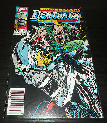 Cyberwar Deathlok Marvel Issue #17 Part 1 of 5 Very Fine Condition