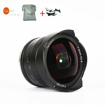 7artisans 7.5mm F2.8 APS-C Manual Fisheye Wide Angle Lens For Sony E-mount A7RII