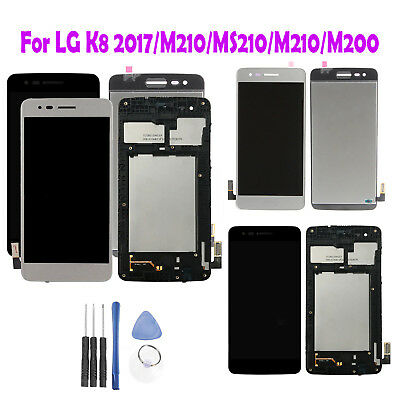LCD Display+Touch Screen Digitizer w/n Frame Assembly For LG K8 M210/MS210/M200