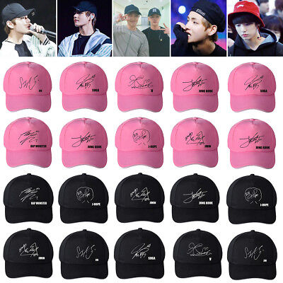 KPOP BTS Live Love Yourself Tour Hat Bangtan Boys Adjustable Baseball COOKY Lot