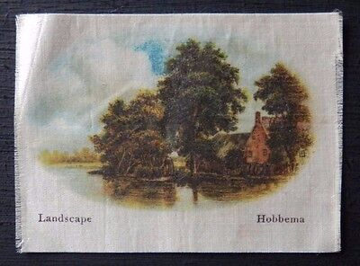 LANDSCAPE by HOBBEMA Superior Quality Silk issued in 1912