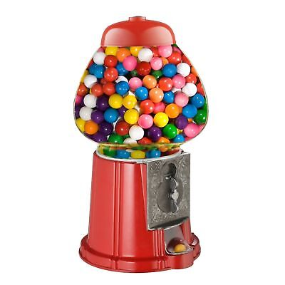 Great Northern 15-Inch Vintage Candy Gumball Machine and Bank,