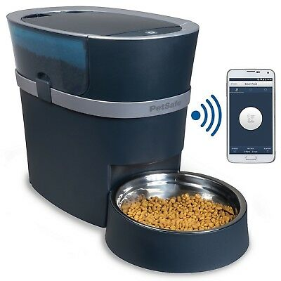 PetSafe Smart Feed Automatic Dog and Cat Feeder, Smartphone, 24-Cups, Wi-Fi