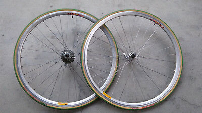 Ruote corsa Campagnolo 8s 12/23t - Whellset