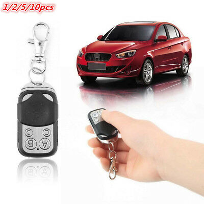 Universal 4 Button Gate Garage Door Opener Cloning Remote Control 433MHZ Key Fob
