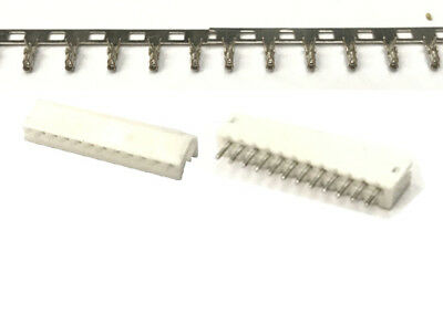 JST-ZH 1.5mm 12-Pin Male Female Connector Vertical Header,Crimps Contact Pin x50