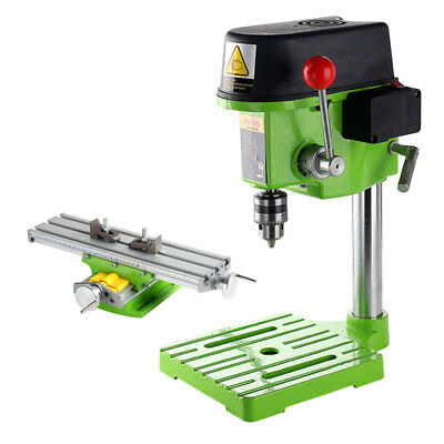 680W High speed Mini precision Bench Drill Drilling milling machine w/ Workbench