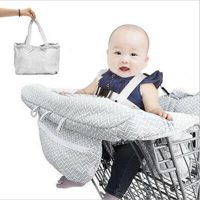 Baby Shopping Cart Cover Trolley Cushion Pad protect anti-bacterial Seat Mat