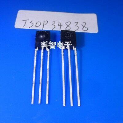 10 x TSOP34838 Receiver Modules for Remote Control Systems
