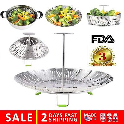 Vegetable Steamer Basket For Instant Pot Electric Pressure Cooker, Stainless