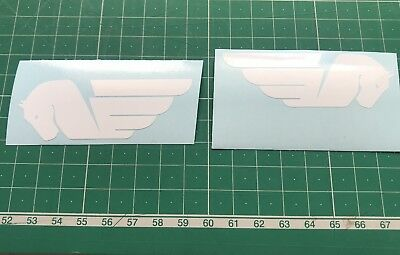 BUELL .  Pegasus Logo Decals Sold As A Pair Buell X1, S1, XB, cyclone.
