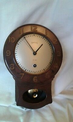Smiths Wall Pendulum Clock Bakelite / Plastic 8 Day.