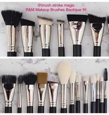 R&m Professional Premium Handcrafted Makeup Artist Brushes - Cruelty Free 🎀